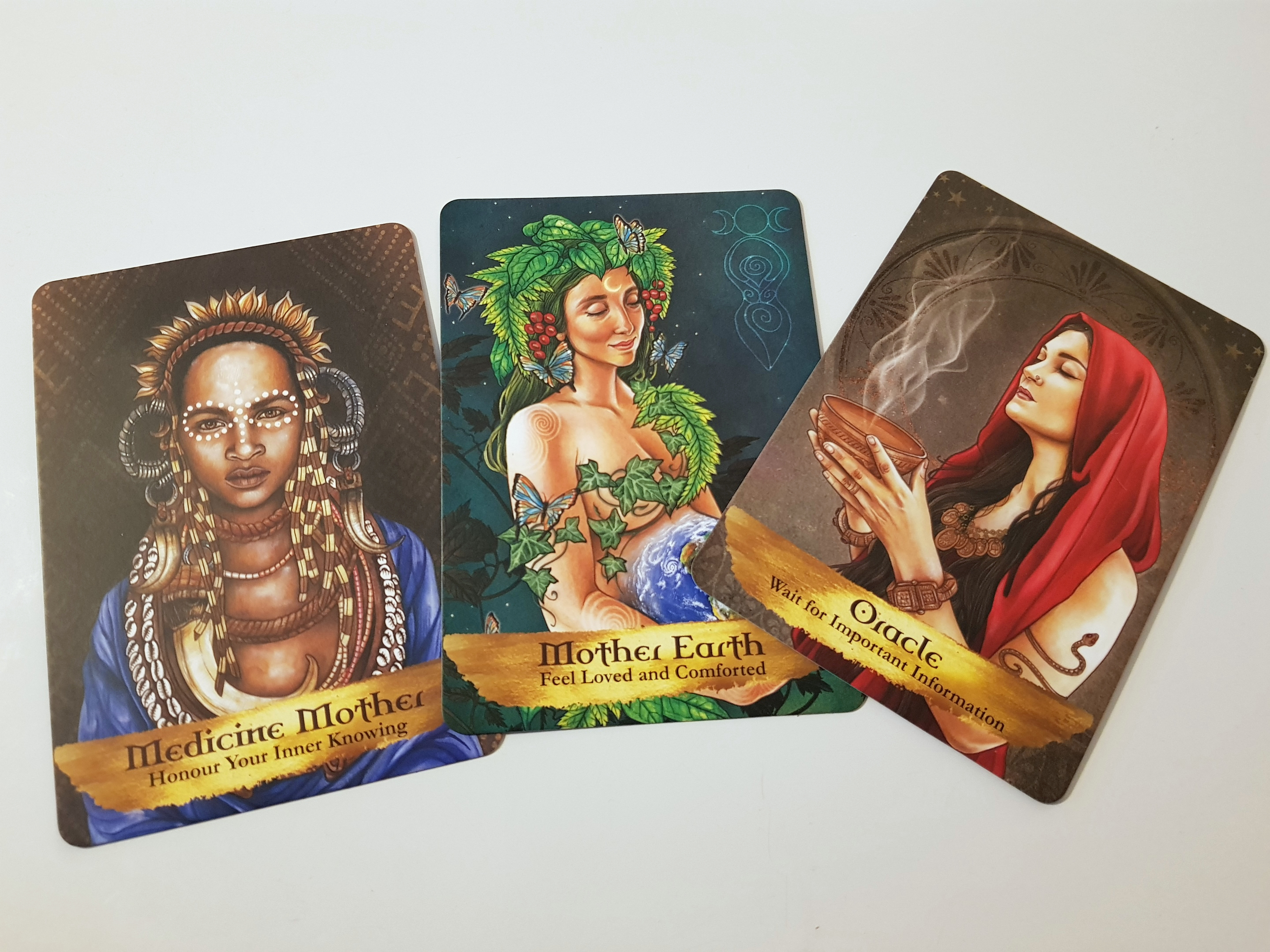Angel and ancestors Oracle Cards