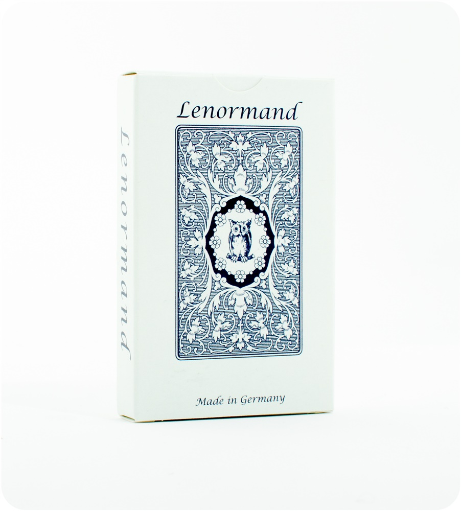 Lenormand Blue Owl - card deck