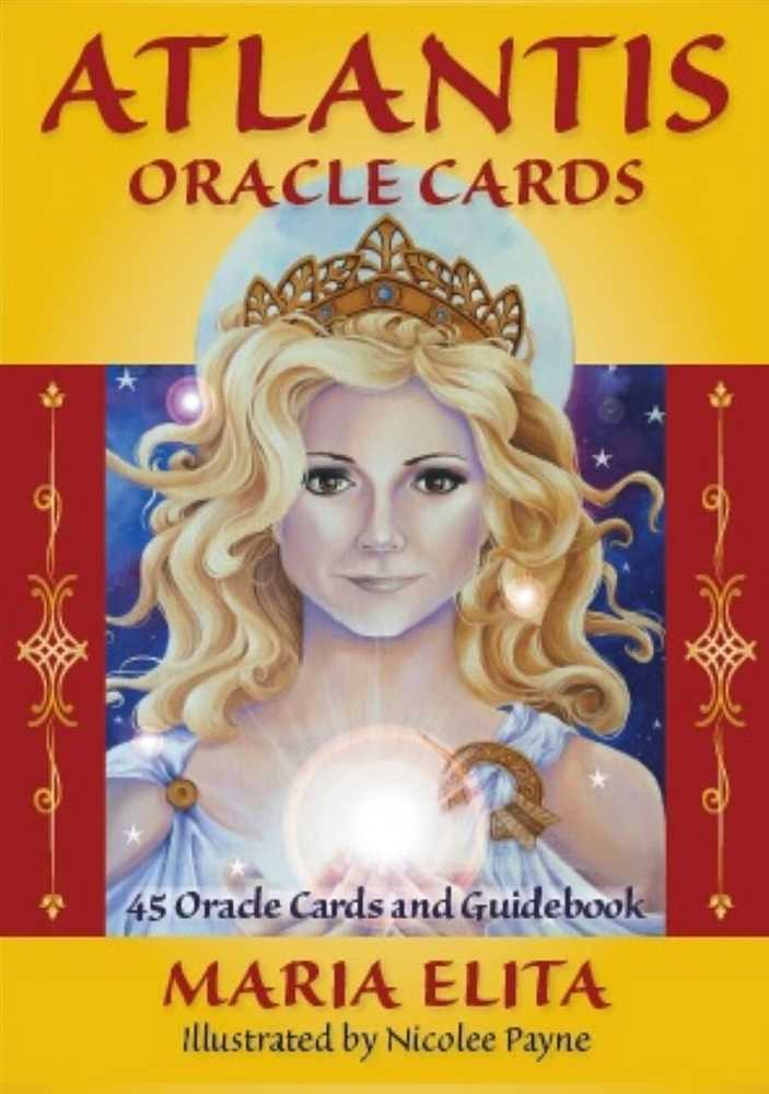 Atlantis Oracle Cards