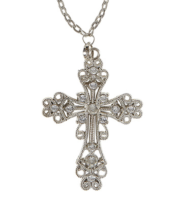 ACCESSORIES/JEWELLERY/GOTHIC CROSS NECKLACE