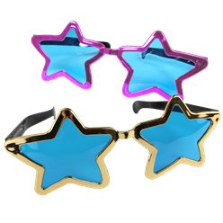 ACCESSORIES/GLASSES/GIANT STAR GLASSES
