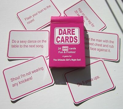 ACCESSORIES/HEN & STAGS/DARE CARDS WOMEN