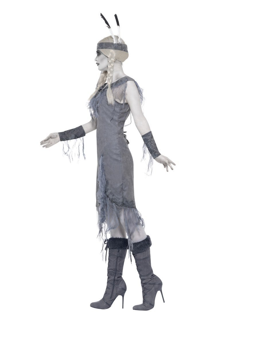 WOMAN/HALLOWEEN/ghost indian princess