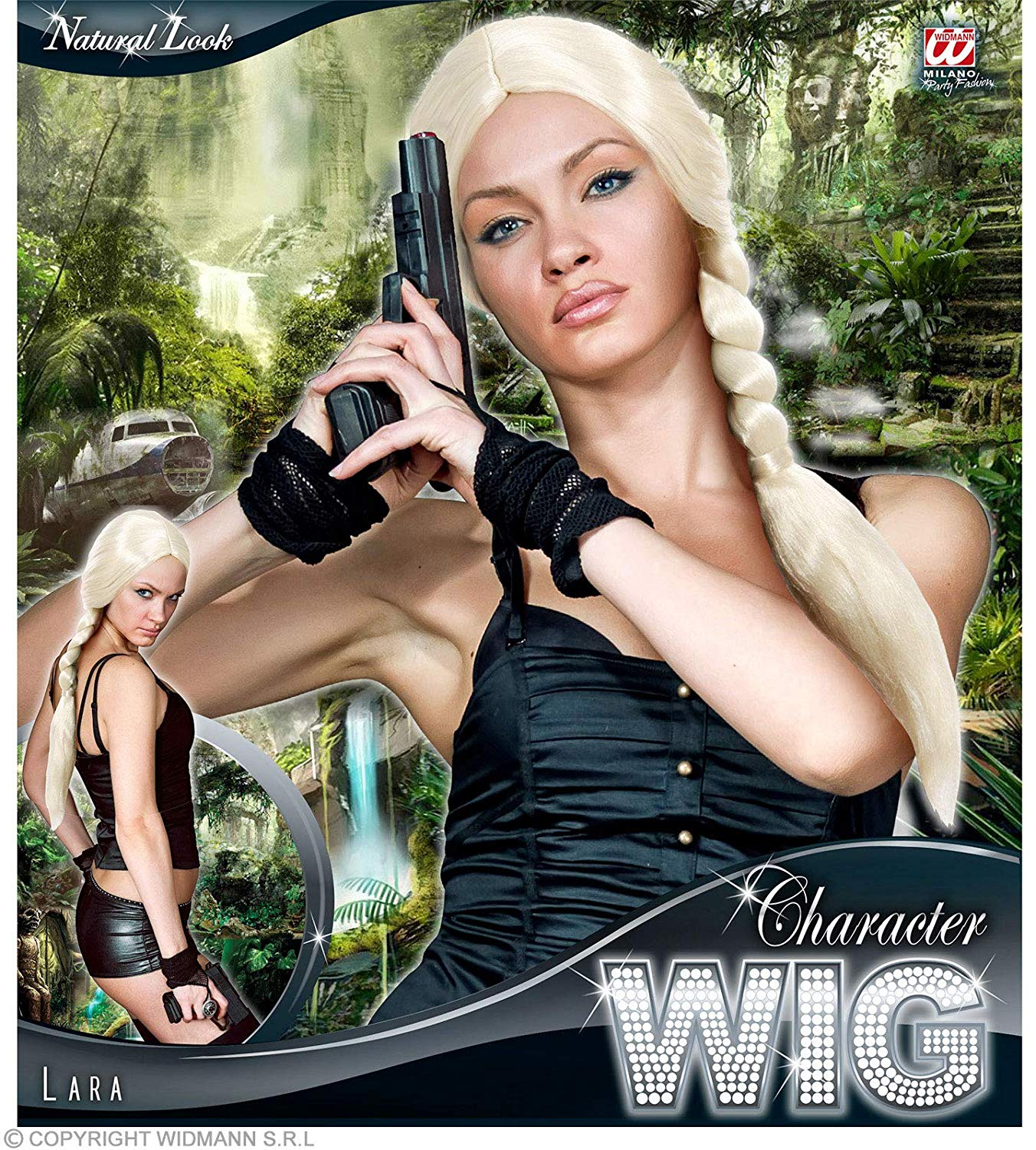 WIG/TV&FILM/LONG BIG PLAIT WIG - BLONDE