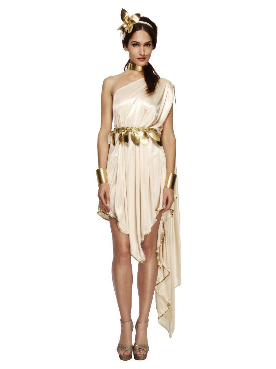 WOMAN/HISTORY/Fever Goddess Costume, Cream