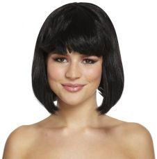 WIG/SHORT/Black Mid Wig