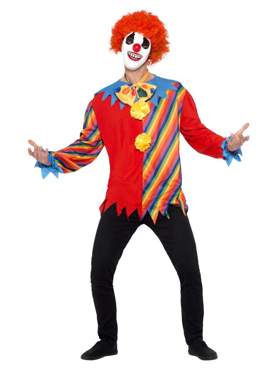 MENS/HALLOWEEN/ Creepy Clown Kit, Multi-Coloured