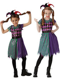 GIRLS/HALLOWEEN&HORROR/HARLEQUIN JESTER