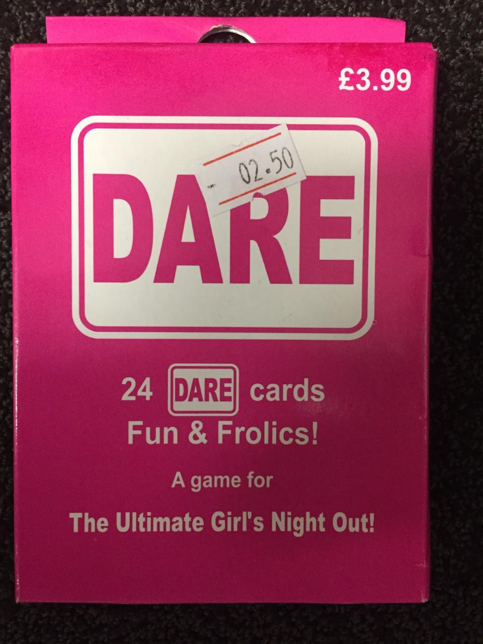 ACCESSORIES/HEN & STAGS/DARE CARDS WOMEN