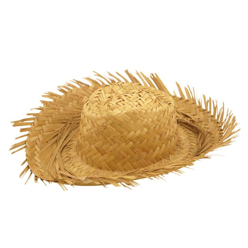 ACCESSORIES/HATS & HEADBANDS/ Straw Beach Hat