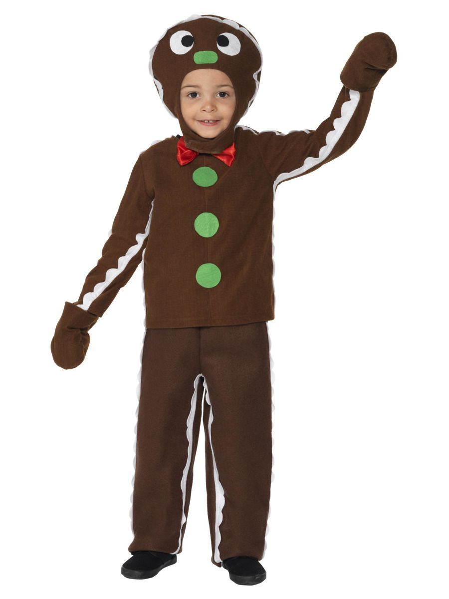 BOYS/CHRISTMAS/Little Gingerbread Man Costume, Brown