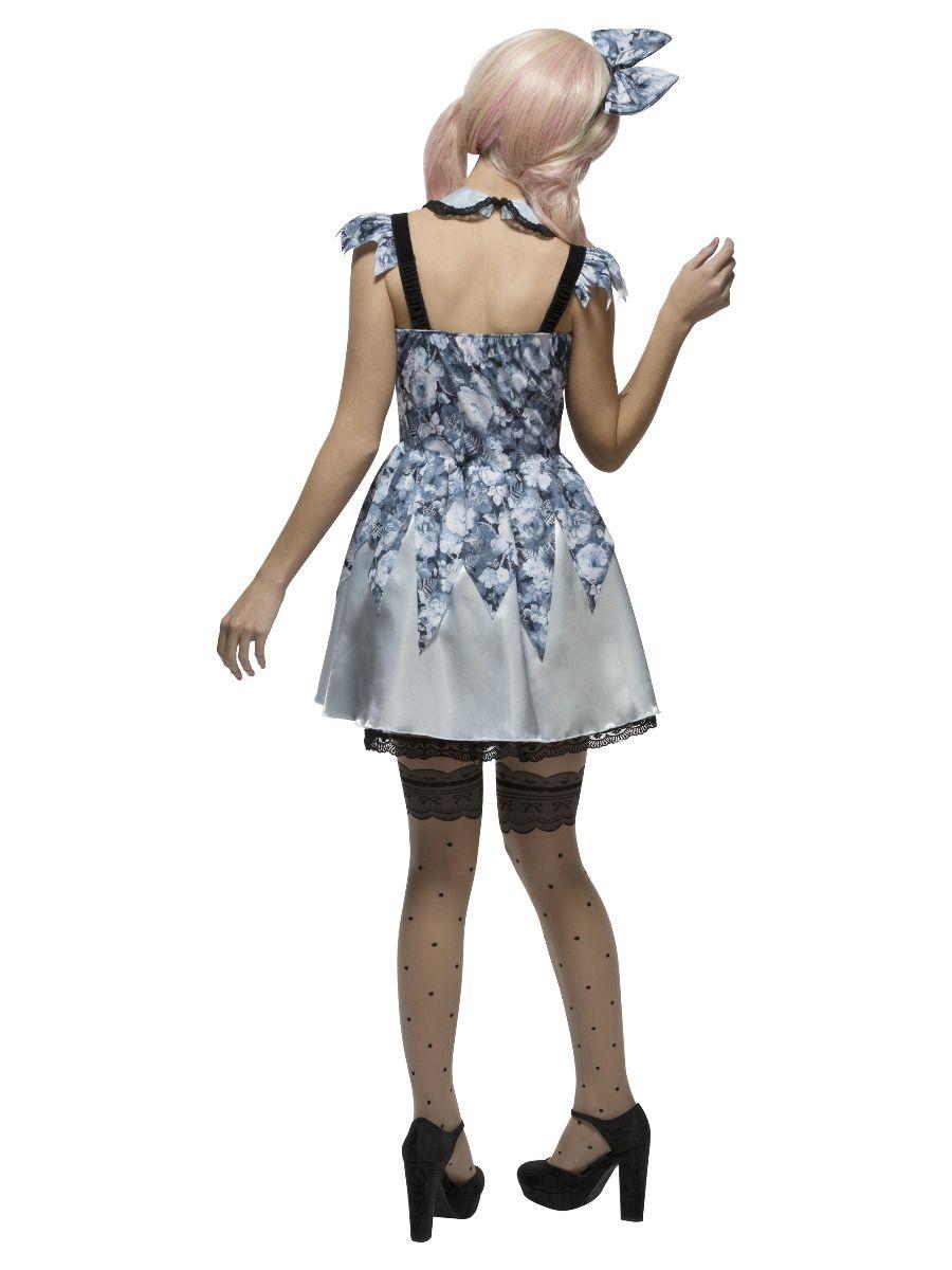 WOMAN/HALLOWEEN/Fever Broken Doll Annie Costume, Blue