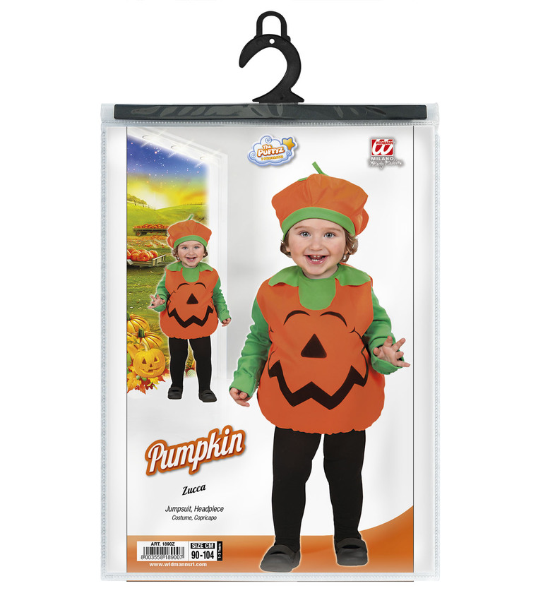 INFANTS/HALLOWEEN/PUMPKIN COSTUME