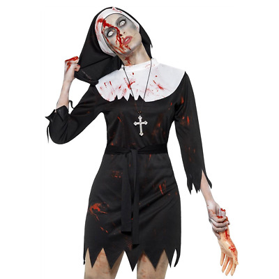 WOMAN/HALLOWEEN/Zombie Sister Costume, Black