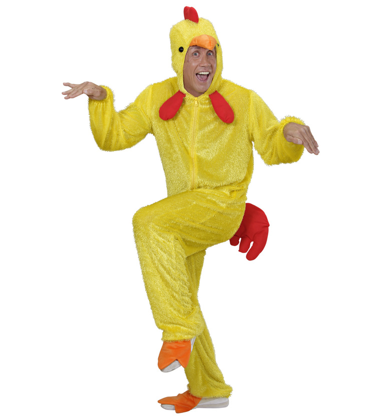 MENS/ANIMALS/ PLUSH YELLOW CHICKEN