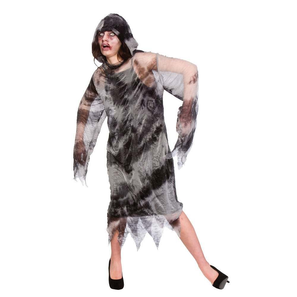 WOMAN/HALLOWEEN/ Hooded Ghost Robe