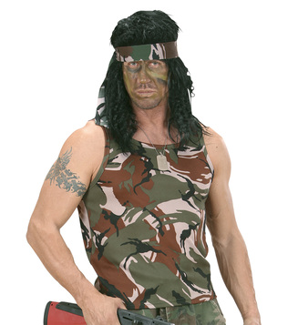 MENS/TV & FILM/CAMOUFLAGE VEST RAMBO