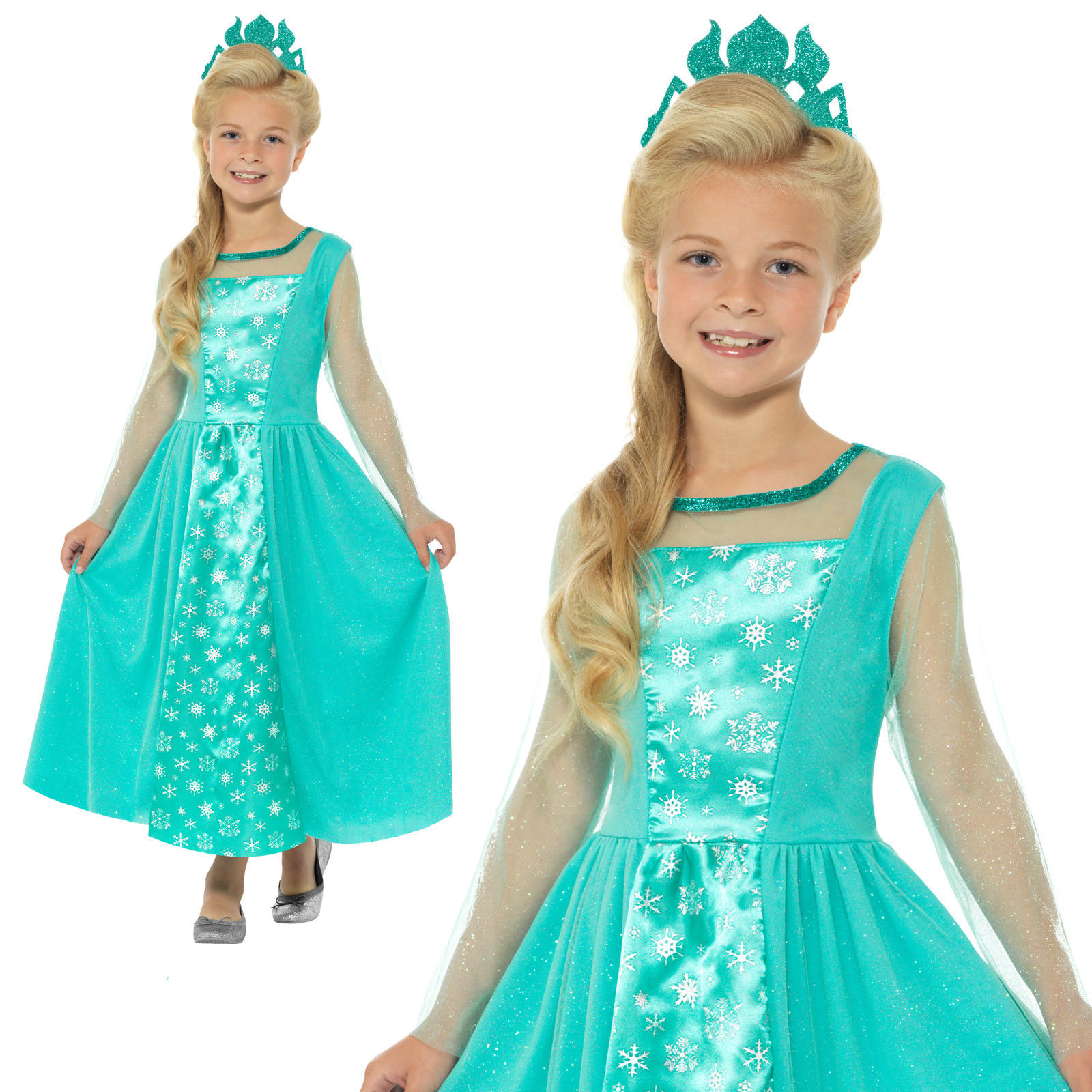 GIRLS/FAIRYTALE/ Ice Princess Costume, Blue