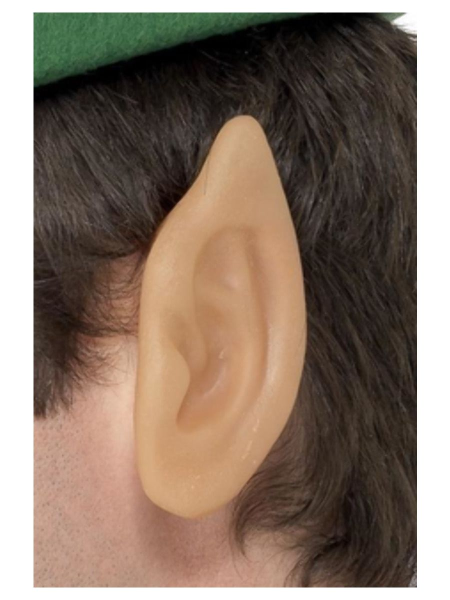 ACCESSORIES/PROPS/Soft Vinyl Pointed Elf Ears, Flesh