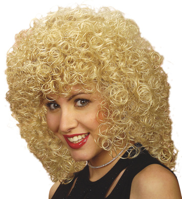 WIG/POPSTARS/BLONDE CURLY WIG