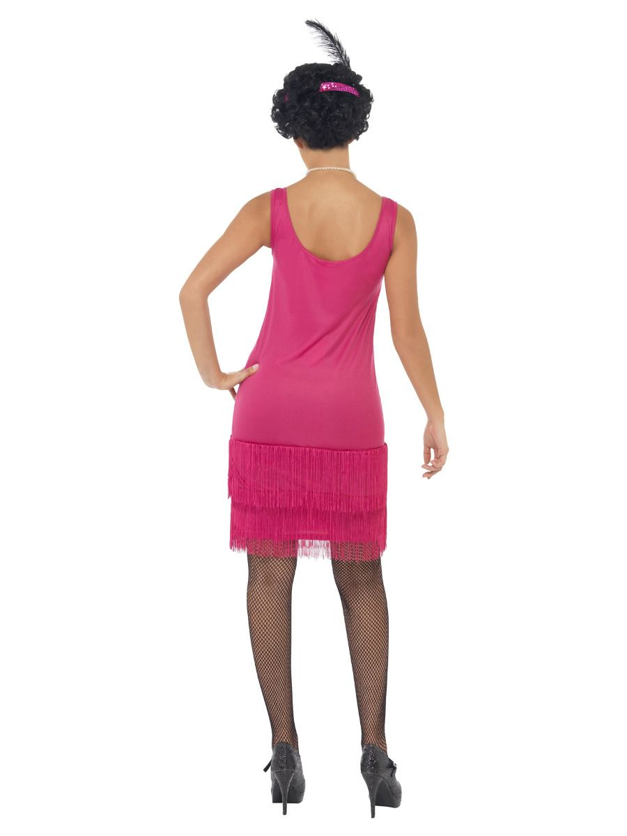 WOMAN/DECADES/1920'S/Funtime Flapper Costume, Hot Pink