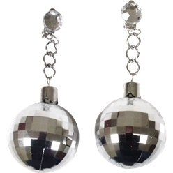ACCESSORIES/JEWELLERY/70'S DISCO BALL EARRINGS