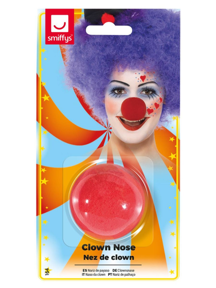 ACCESSORIES/PROPS/RED CLOWN NOSE