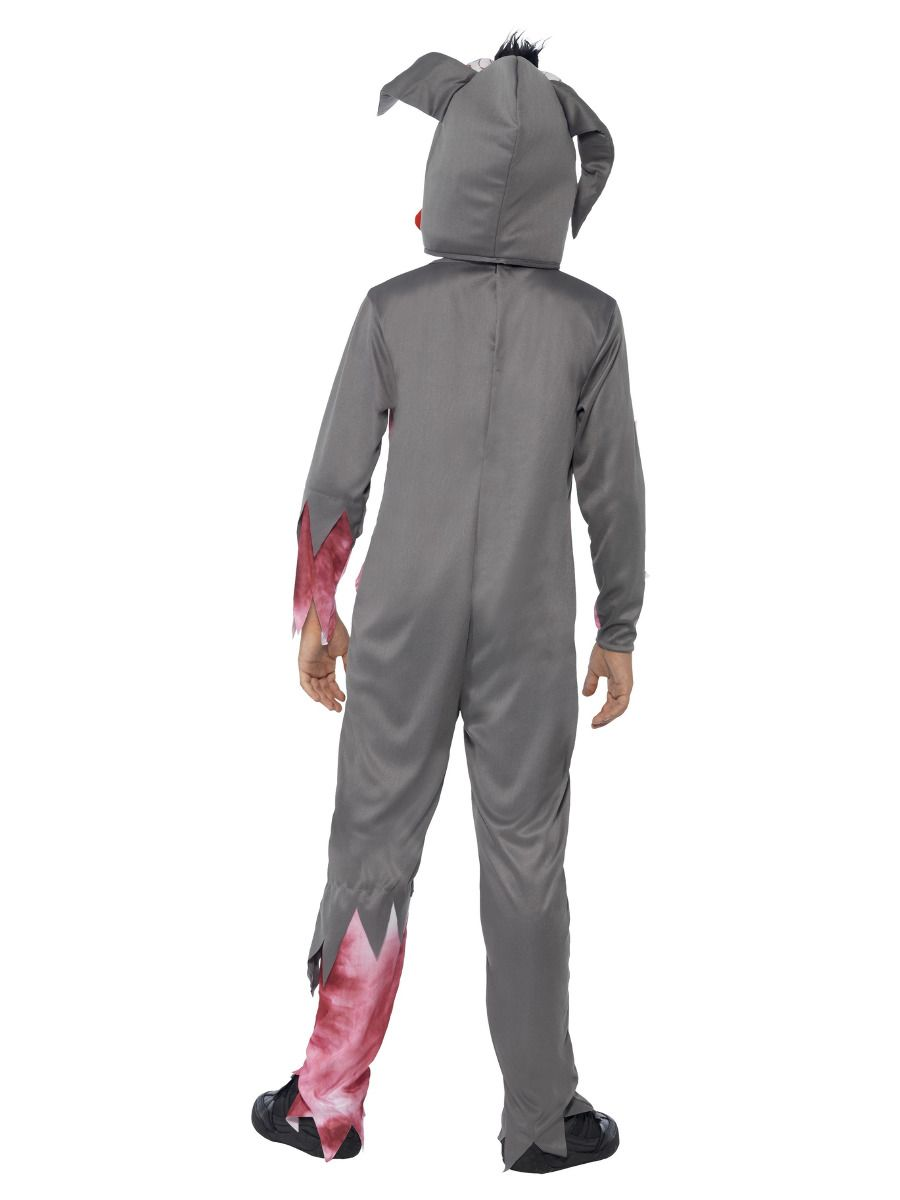BOYS/HALLOWEEN/Deluxe Roadkill Pet Costume, Grey