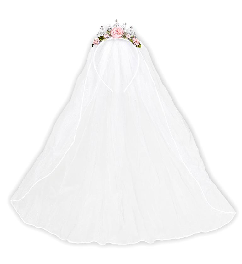ACCESSORIES/HENS & STAGS/TIARA WEDDING VEIL