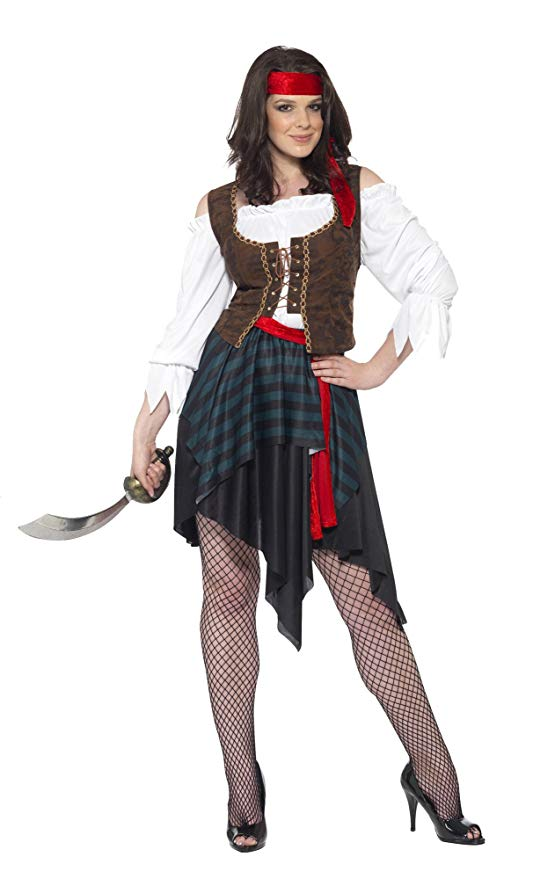 WOMAN/PIRATES/Pirate Lady Costume, Brown
