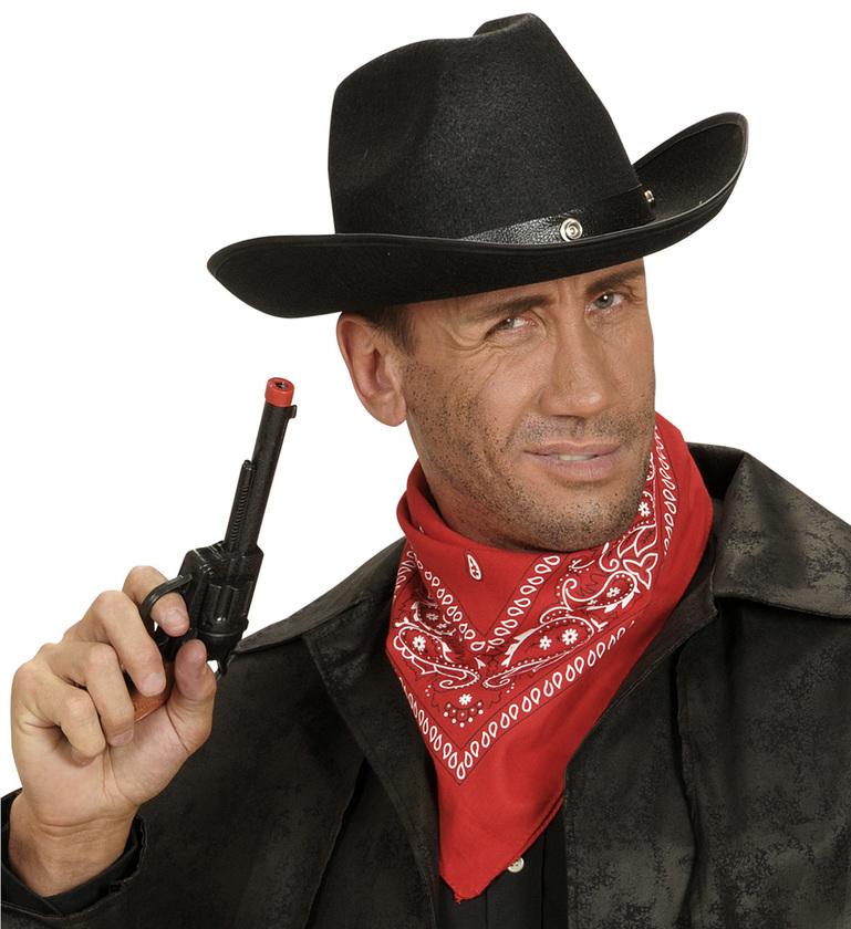 ACCESSORIES/HATS & HEADBANDS/ FELT COWBOY HAT W/BOLT - 3 colours