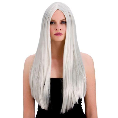 WIG/LONG/ Classic Long Silver Wig