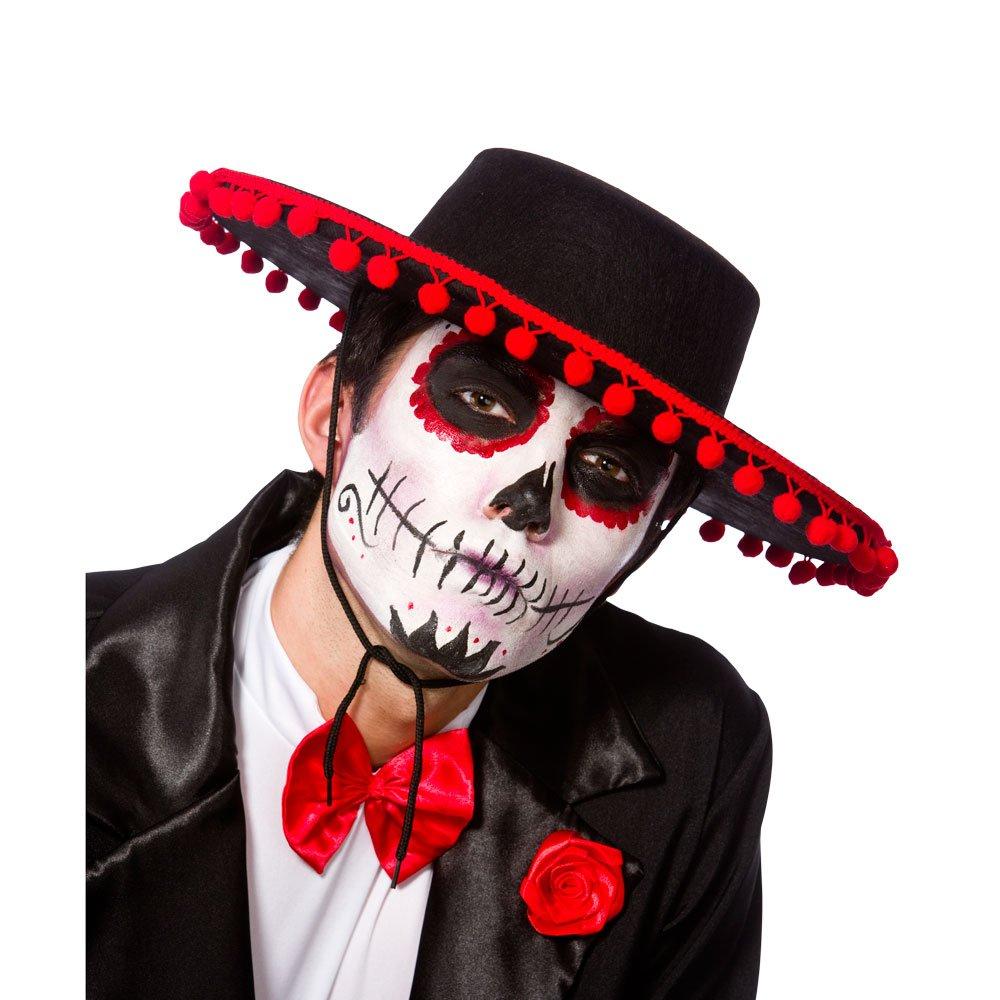 ACCESSORIES/HATS & HEADBANDS/ Spanish Hat / Day of The Dead Senor