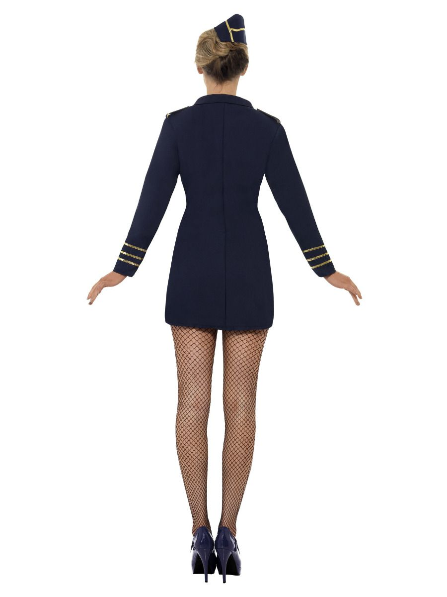 WOMAN/UNIFORMS/Flight Attendant Costume, Navy Blue