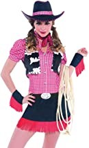 WOMAN/COWBOYS & INDIANS/RAW HIDE COW GIRL