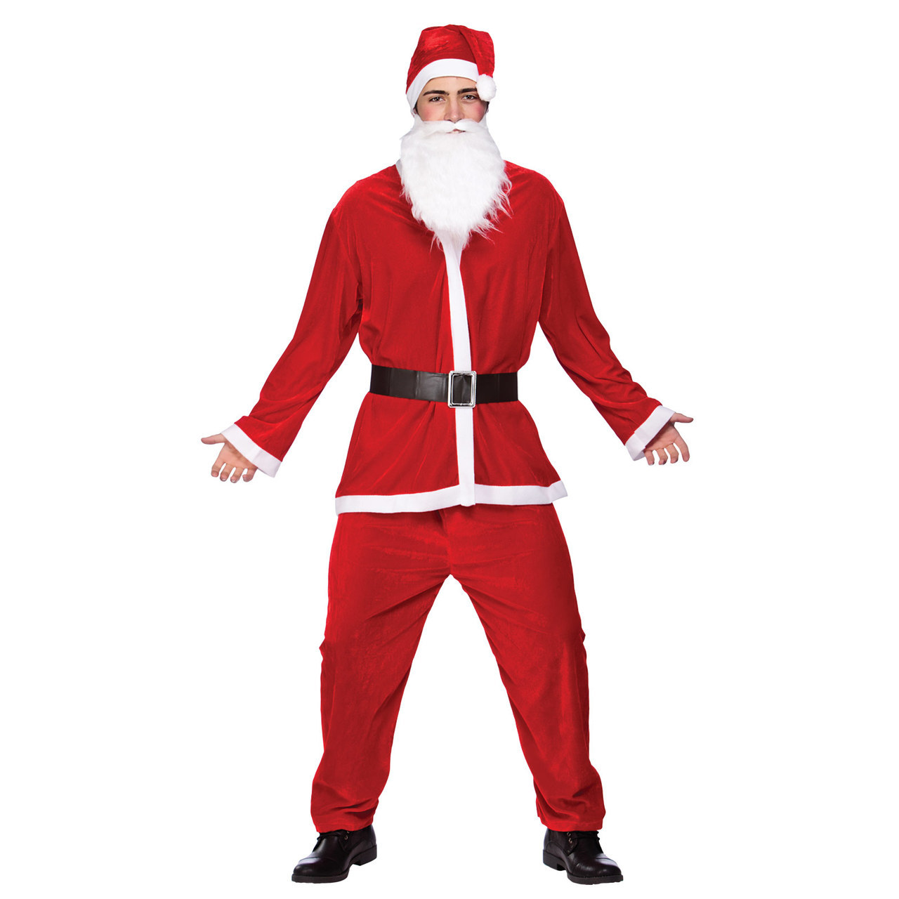 MENS/CHRISTMAS/BUDGET SANTA SUIT