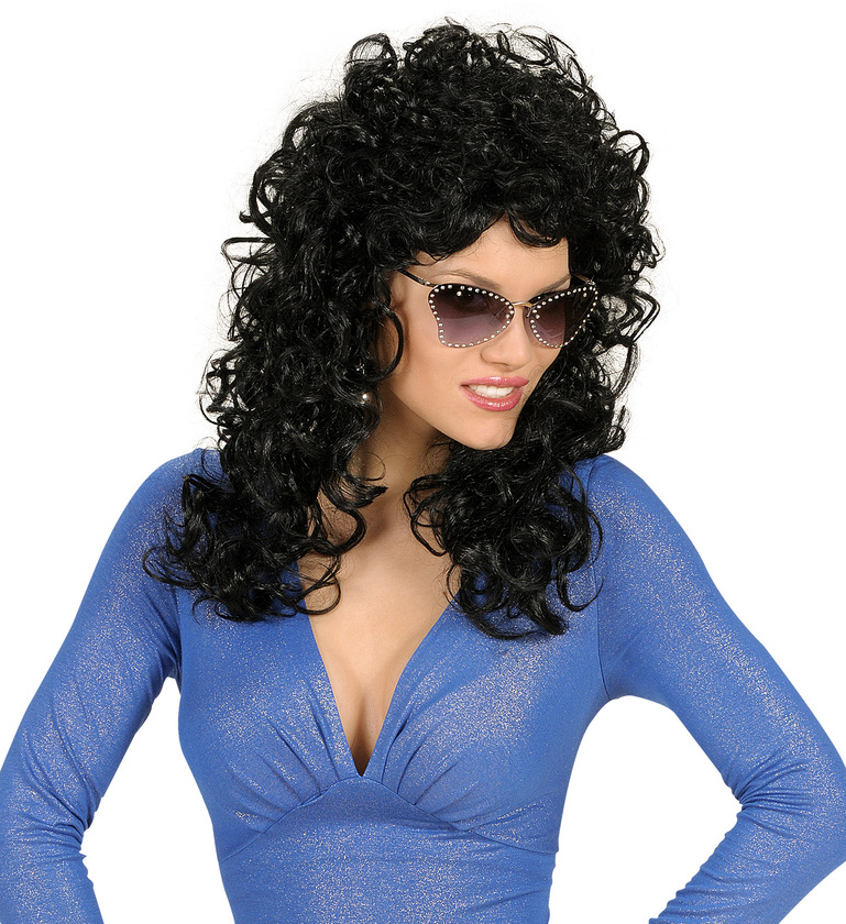 WIG/LONG/ATTRACTIVE WIG - BLACK
