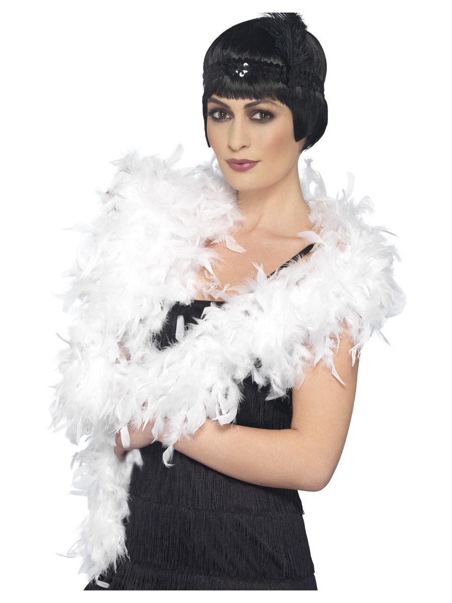 ACCESSORIES/FEATHER BOAS&LEIS/1920'S FEATHER BOA'S
