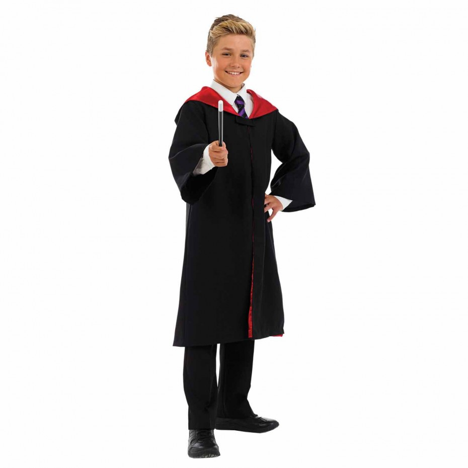 BOYS/TV & FILM/KIDS SCHOOL WIZARD COSTUME