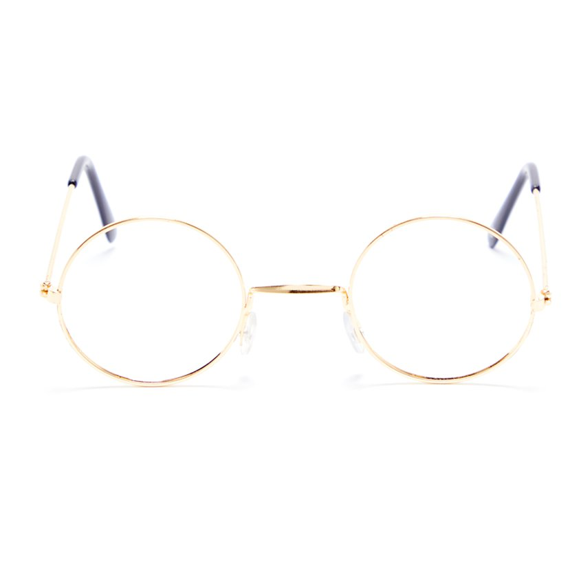 ACCESSORIES/GLASSES/GOLD RIM GRANNY