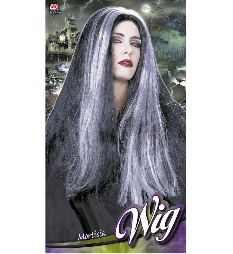 WIG/HALLOWEEN/mortisia wig