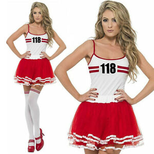 WOMAN/COMEDY/Adults Ladies Sexy Marathon Woman Runner 118 Hen Race Fancy Dress Costume Tutu
