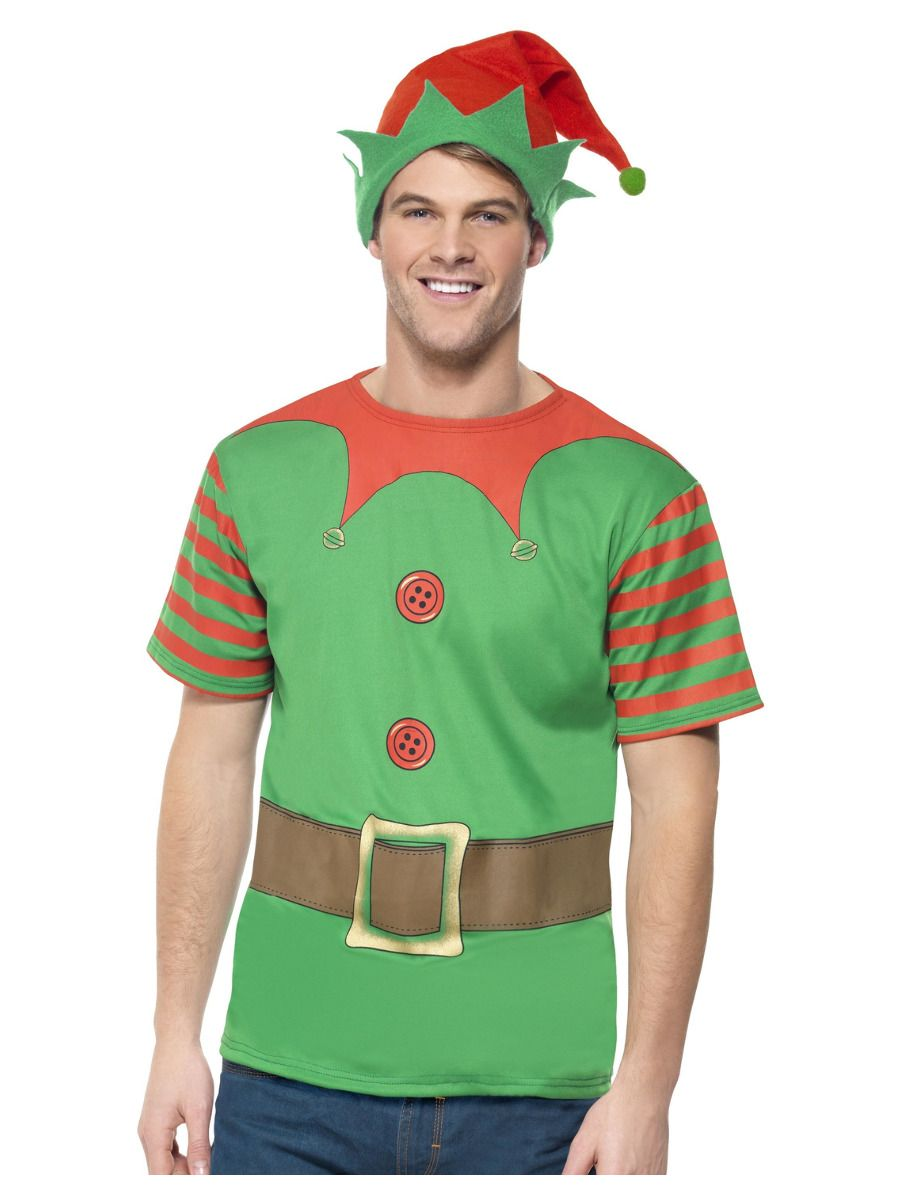 MENS/CHRISTMAS/INSTANT ELF TSHIRT