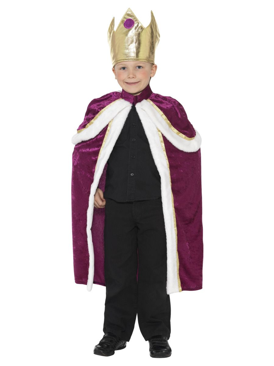 BOYS/HISTORY/Kiddy King/Queen Costume, Purple