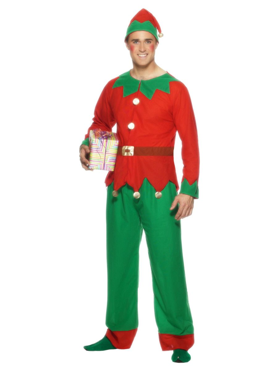 MENS/CHRISTMAS/ELF COSTUME