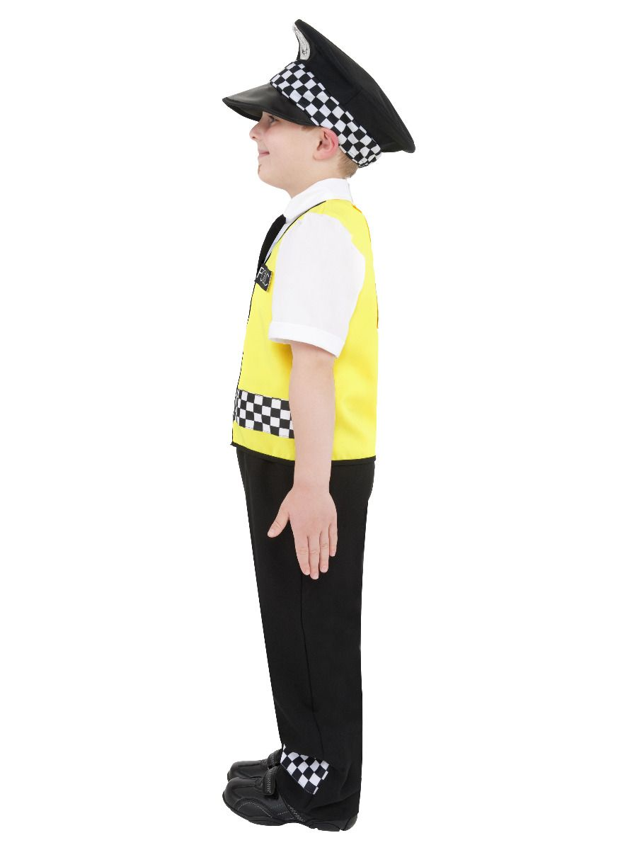 BOYS/UNIFORMS/Police Costume, Black