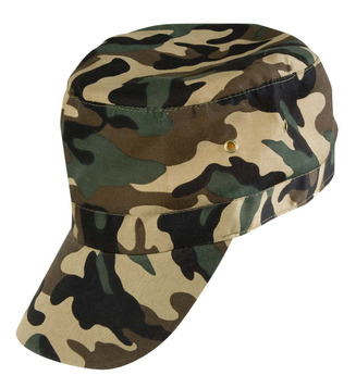 ACCESSORIES/HATS & HEADBANDS/MILITARY CAMOUFLAGE CAP ADJUSTABLE