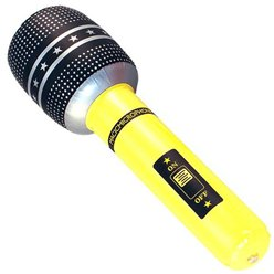 ACCESSORIES/INFLATABLES/ INFLATABLE MICROPHONE