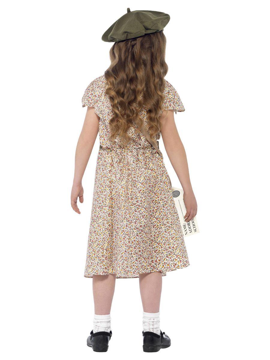 GIRLS/HISTORY/Evacuee Girl Costume, Patterned