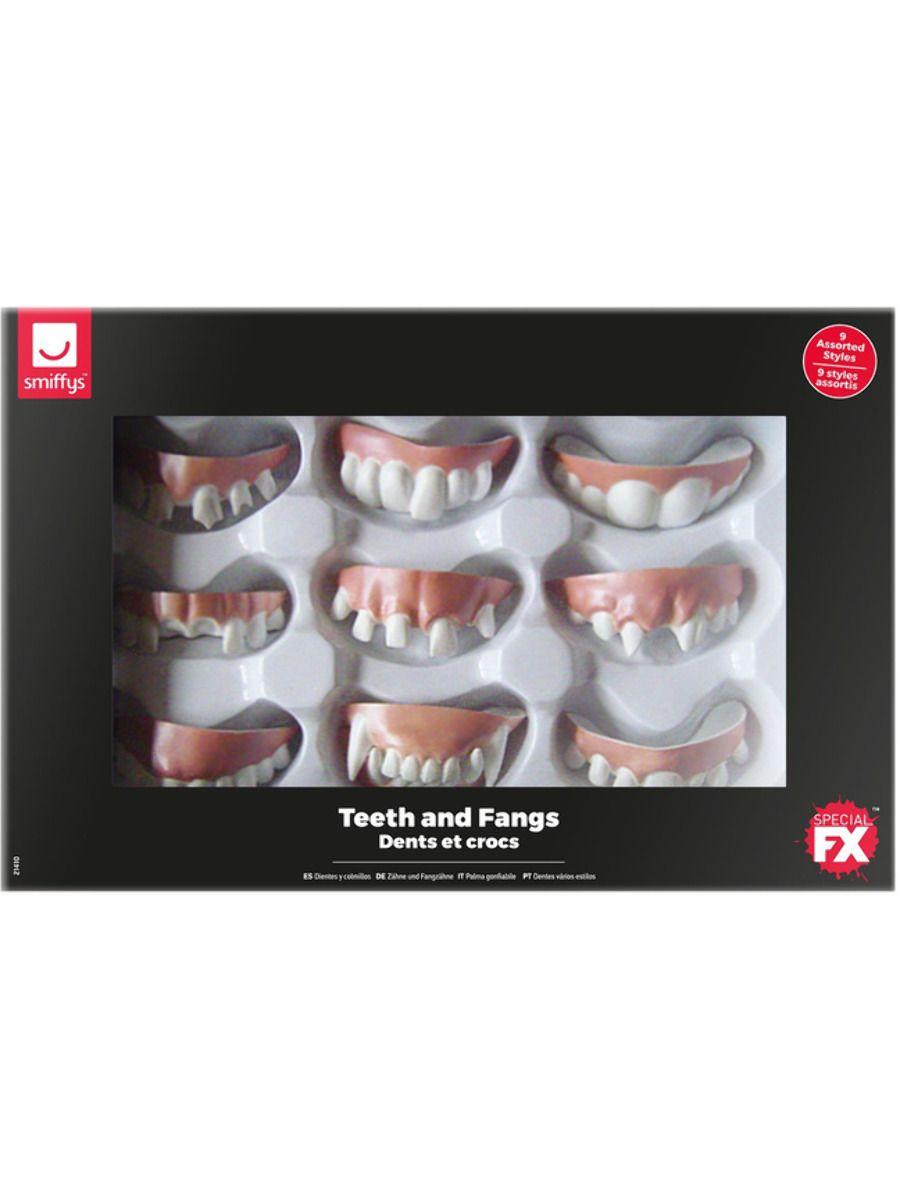 ACCESSORIES/FANGS & TEETH/Smiffys Make-Up FX, Assorted Teeth & Fangs